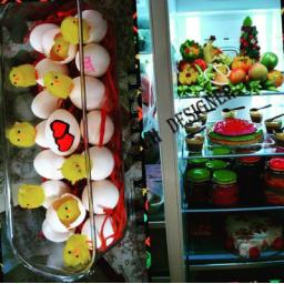 جهیزیه ارایی،میوه ارایی،دیزاین یخچال