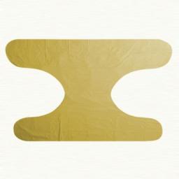 لاستیکی گره ای بزرگسال رنگ زرد در بسته 6 عددی