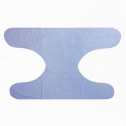 شورت دو گره بزرگسال رنگ آبی در بسته 6 عددی