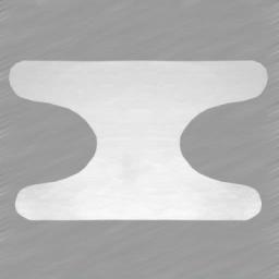 لاستیکی گره ای بزرگسال رنگ سفید در بسته 6 عددی