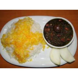 غذاهای خانگی با برنج ایرانی