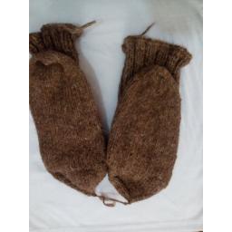 جوراب پشمی دستبافت