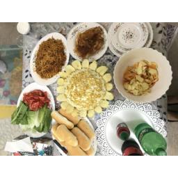 سالاد الویه وانواع عذاهای ساندویچی