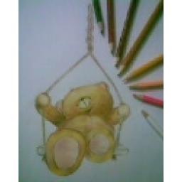 تکنیک مداد رنگی