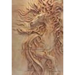 مجسمه دیواری اسب