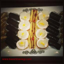 شیرینی رولت با طعم های مختلف
