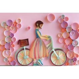 تابلوی ملیله کاغذی در طرح و ابعاد دلخواه مشتری