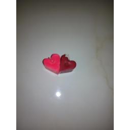 جفت شمع طرح قلب
