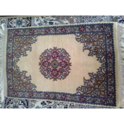 فرش دستباف کرک و ابریشم