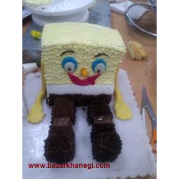 کیک ایستاده باب اسفنجی