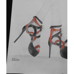 طراحی انواع کفش های شیک مجلسی