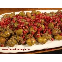 زیتون پرورده سنتی مخصوص گیلان