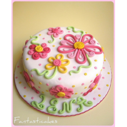 کیک فانتزی دخترانه