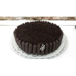 کیک پان اسپانیا شکلاتی