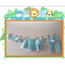 لباس بافتنی، برای سیسمونی نوزاد