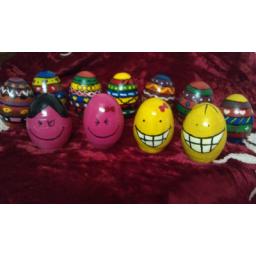 تخم مرغ های رنگی سفره هفت سین
