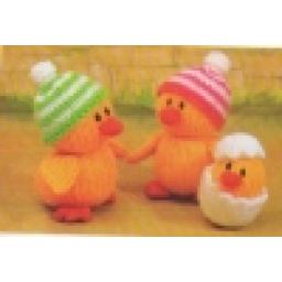 عروسک جوجه اردکها