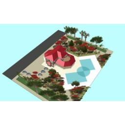 طراحی ویلا و فضای سبز ومحوطه