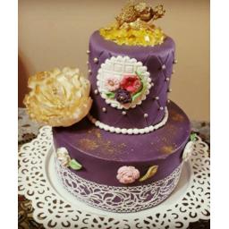 کیک با روکش فوندات