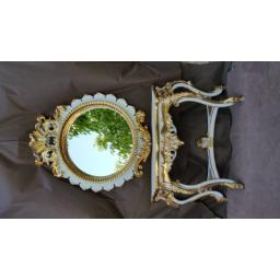 آینه کنسول درخشان