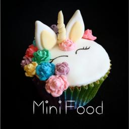 کاپ کیک یونیکورن (اسب تک شاخ)