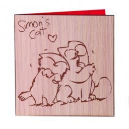 کارت تبریک گربه سایمونی