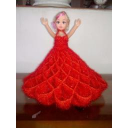 عروسک بافتنی زیبا