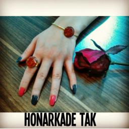 دستبند و انگشتر با رنگبندی