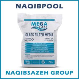 سیلیس شیشه ای MEGA CLEAR