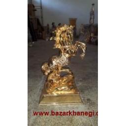 مجسمه تزئینی اسب...