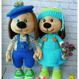عروسک های قلاب بافی