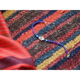 دست بند لاجورد با فلز برنج