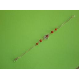 دستبند مرجان ولنتاین