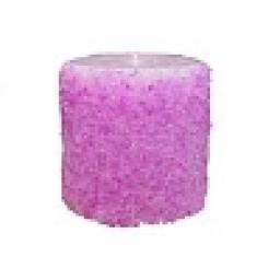 شمع با تزیین شن رنگی
