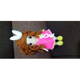 عروسک دختر بافتنی