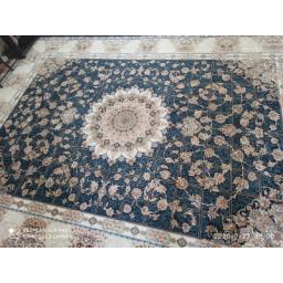 2عدد فرش 12متری گل برجسته