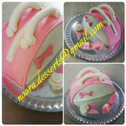 کیک فوندانت سفارشی