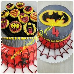 کیک و کاپ کیک تولد