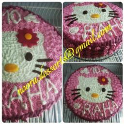 کیک فانتزی طرح گربه