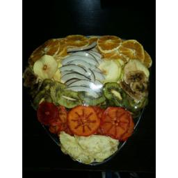 میوه خشک کرده خوشمزه و ارگانیک