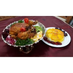مرغ شکم پر با مزه ای متفاوت