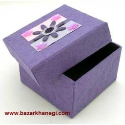 جعبه هدیه چهار گوش ساده