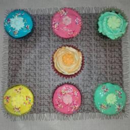 کاپ کیک های خانگی