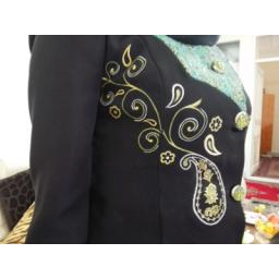 مانتو و لباس مجلسی نقاشی شده