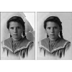 بازسازی عکس های قدیمی و شکسته