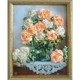 گلدان رز- گل برجسته (14)