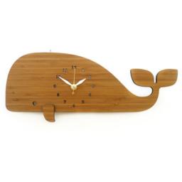 ساعت دیواری چوبی دلفین (12)