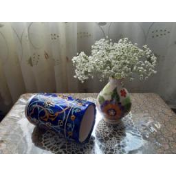 گلدان سرامیکی طرح مسجد کبود
