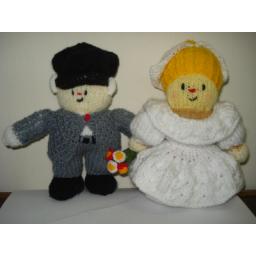عروسک عروس و داماد