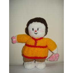 عروسک خانم کاموا فروش